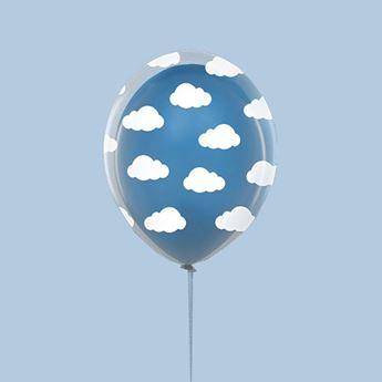 Picture of Globos nubes transparente (6)