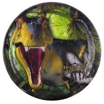 Imagen de Platos dinosaurio jurásico grandes (8)