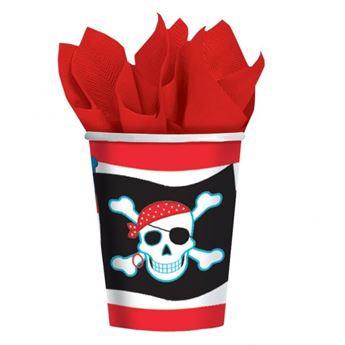 Imagen de Vasos Fiesta Piratas (8)