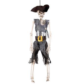 Imagen de Figura pirata esqueleto 41cm