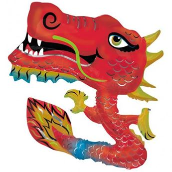 Picture of Globo dragón chino