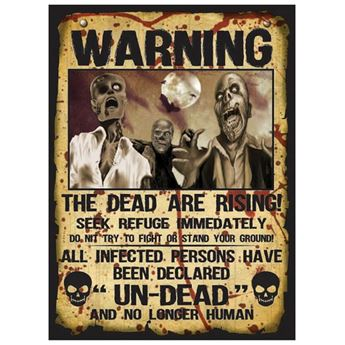 Imagen de Troquelados peligro zombie (2)