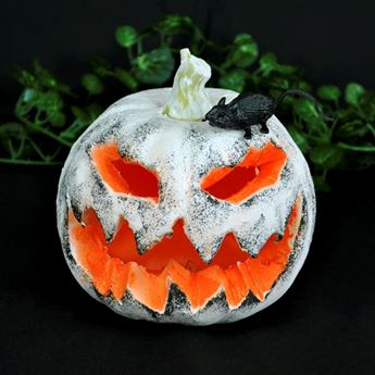 Picture of Calabaza Halloween blanca con luz