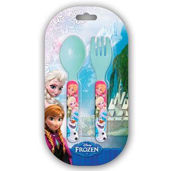 Picture of Set cubiertos Frozen plástico (2)