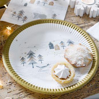 Imagen de Platos Navidad rústica (8)