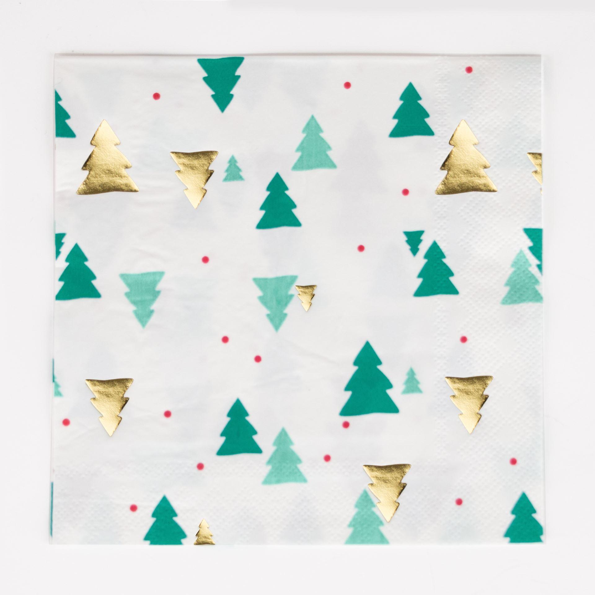 imagen de servilletas rbol de navidad
