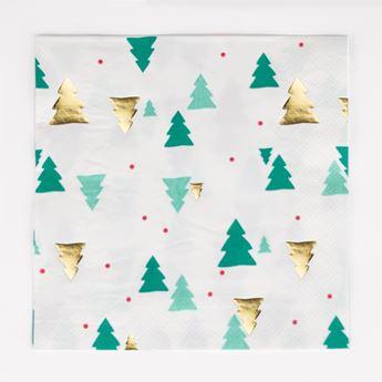 Imagens de Servilletas árbol de Navidad (16)