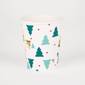Picture of Vasos árbol de Navidad (8)