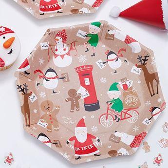 Imagen de Platos Navidad infantil (8)