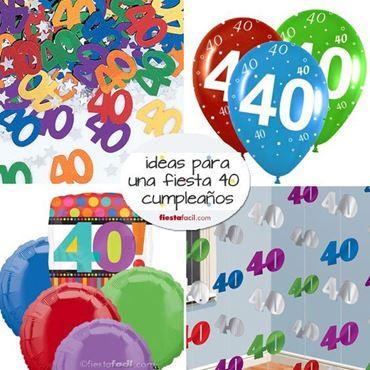 Imagen de categoría Decoración 18,30,40,50,60 cumpleaños