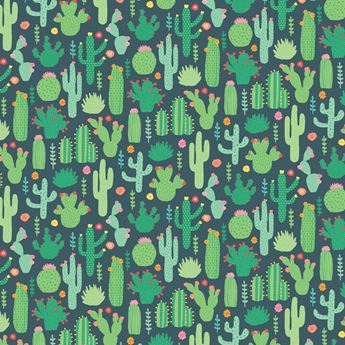 Picture of Papel regalo cactus
