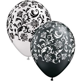 "Picture of Globos de látex ""DAMASK"" (10)"