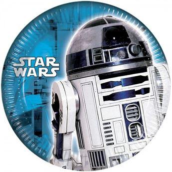 Imagen de Platos Star Wars R2D2 pequeños (8)