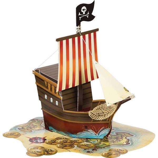 Imagen de Centro de mesa barco Pirata