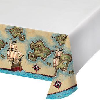 Imagen de Mantel Mapa Pirata