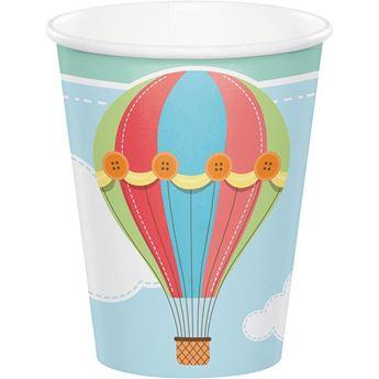 Imagen de Vasos globo aerostático (8)