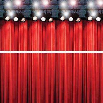 Imagen de Decorados pared telón Hollywood (2)