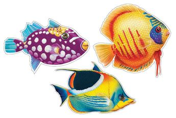 Picture of Troquelado pez surtido