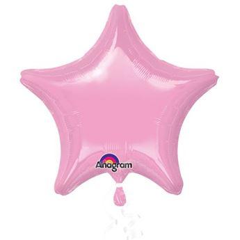 Imagen de Globo estrella rosa