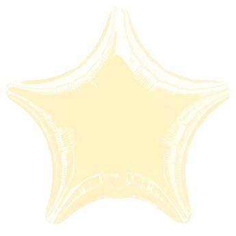 Picture of Globo estrella marfil
