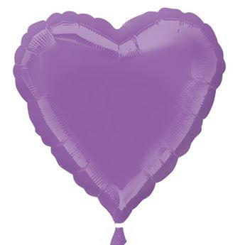 Imagen de Globo corazón lila