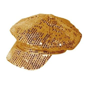 Picture of Gorra lentejuelas oro Disco