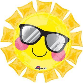 Picture of Globo sol con gafas