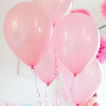 Picture of Globos rosa pastel (50)