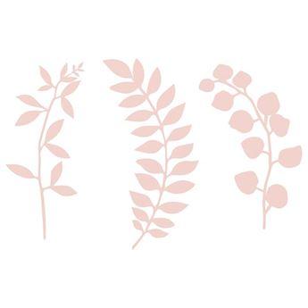 Imagens de Ramas decoración papel rosa pastel (9)