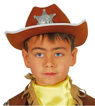 Imagen de Sombrero sheriff vaquero infantil
