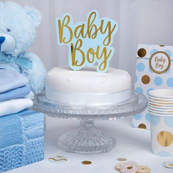 Picture of Topper tarta baby boy