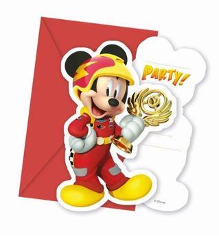 Imagen de Invitaciones Mickey y los super pilotos (6)