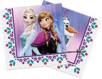 Picture of Servilletas Frozen Flores (16)