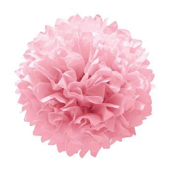 Imagens de Pompon rosa sencillo (3)