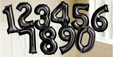 Imagens por categoria Globos números Negros