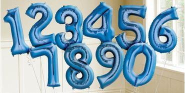 Imagens por categoria Globos números Azules