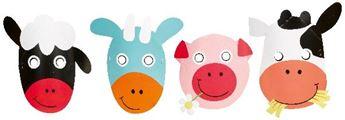 Imagens de Máscaras animales granja (8)