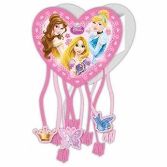 Imagen de Piñata Princesas Disney Corazón