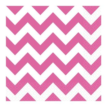 Picture of Servilletas chevron rosa (16)