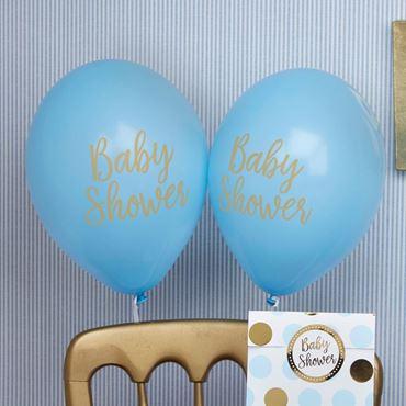 Imagen de categoría Baby Shower Azul y Dorado