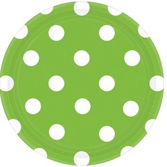 Picture of Platos lunares verde claro  (8)