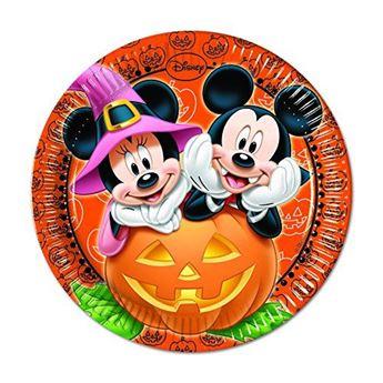 Imagen de Platos Mickey Halloween grandes (8)