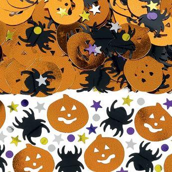 Imagen de Confeti Halloween calabaza