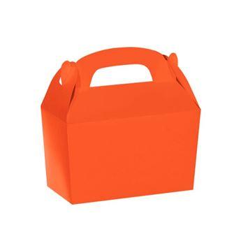 Imagens de Caja naranja pequeña