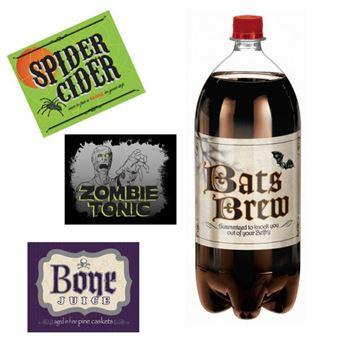 Imagens de Decoración Botella 2lts. Halloween