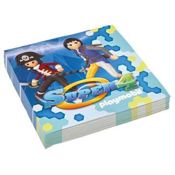 Imagen de Servilletas Playmobil super 4 (20)