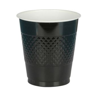 Picture of Vasos negros plástico (10)