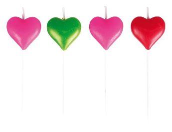 Imagen de Velas mini corazones (8)