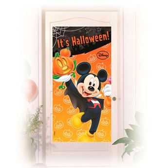 Imagen de Decoración puerta Mickey Halloween