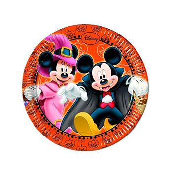 Imagen de Platos Mickey Halloween pequeños (8)